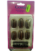 Gossip Brown Weaving Clips With Thread 36Pcs