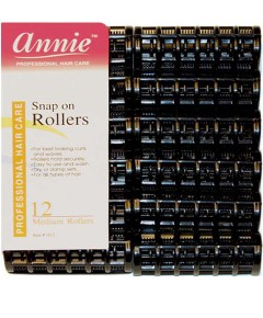 Annie Snap On Rollers 1012