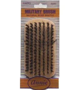 Annie Natural Boar Bristle Hard Military Brush 2062