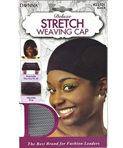 Donna Deluxe Stretch Weaving Cap 22531 Black