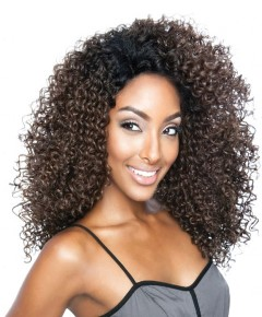 Red Carpet Berry Curly Lace Front Wig Syn 3B Jordan Curl