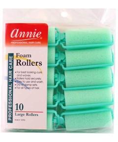 Annie Foam Rollers Green