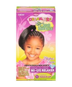 Dream Kids Olive Miracle Creme On Creme No Lye Relaxer