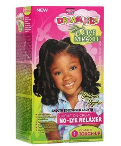 Dream Kids Olive Miracle No Lye Relaxer 1 Touchup Regular