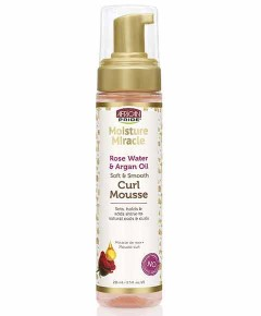Moisture Miracle Rose Water And Argan Oil Curl Mousse