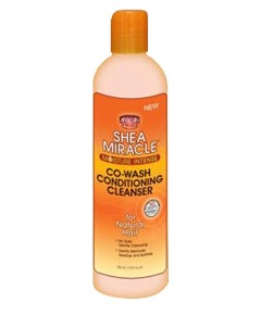 Shea Miracle Moisture Intense Co Wash Conditioning Cleanser For Natural Hair