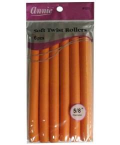 Soft Twist Rollers Orange