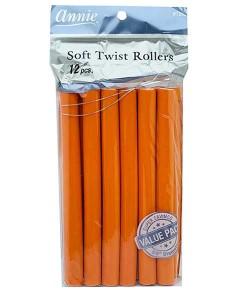 Soft Twist Rollers Orange 1252