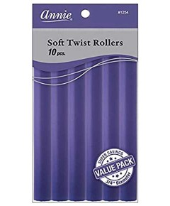 Soft Twist Rollers Purple