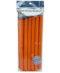 Soft Twist Rollers Orange 1262