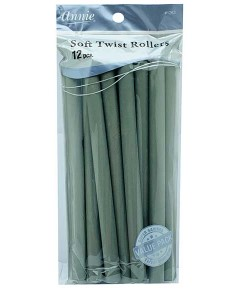 Soft Twist Rollers GREY 1263