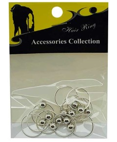 Accessories Collection Hair Ring 60669 Silver