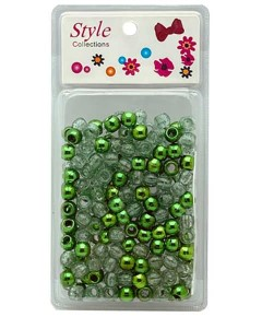 Style Collection Hair Beads BD008 Green
