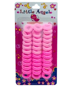 Little Angel Hair Grips Pink RS165