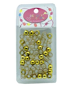 Beauty Collection Magic Hair Beads MET2GOL