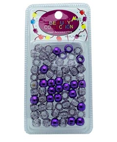 Beauty Collection Magic Hair Beads MET2PUR