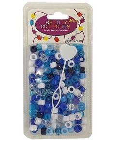 Beauty Collection Magic Hair Beads Sky Blue