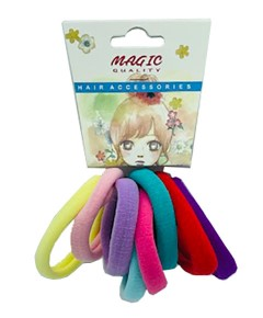 Magic Quality Hair Elastic Bands Assorted TP15A