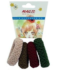 Magic Quality Hair Elastic Bands Assorted TT22A