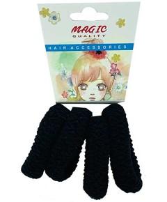 Magic Quality Hair Elastic Bands Black TT22B