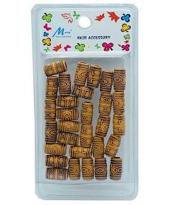 Murry Hair Accessory Wooden Beads MC24