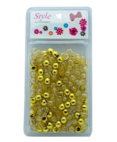 Style Collection Hair Beads BD008 Gold