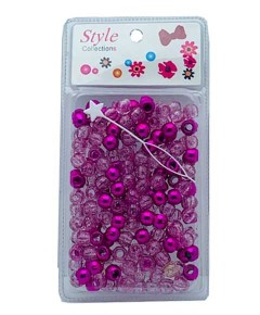 Style Collection Hair Beads BD008 Pink