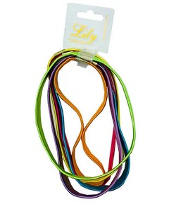 Lily Collection Shiny Neon Long Elastic Head Band RS161