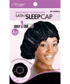 Magic Collection Satin Sleep Cap Assorted