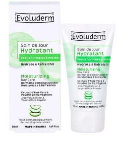 Moisturizing Day Cream With Aloe Vera Extract