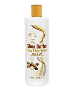 Nat Skin Shea Butter Hand And Body Lotion