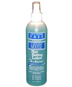 IC Fantasia Liquid Mousse Hair Setting Lotion