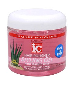 IC Fantasia Hard To Hold Styling Gel With Sparkle Lites