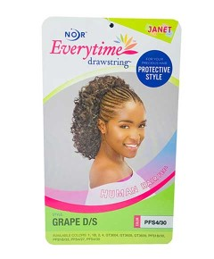 Noir Every Time Syn Grape DS Ponytail