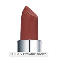 Moisture Lipstick KLS15 Brownie Brown