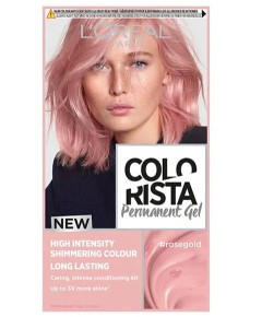 Colorista Permanent Gel Rose Gold