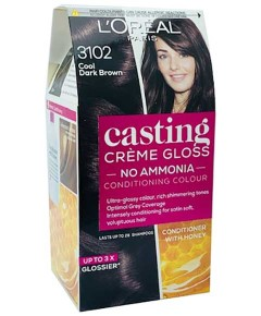 Casting Creme Gloss Conditioning Color 3102 Cool Dark Brown