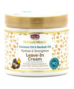 Moisture Miracle Coconut Oil And Boabab Oil Leave In Cream