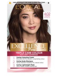 Excellence Creme Color 4.02 Tempting Brunette