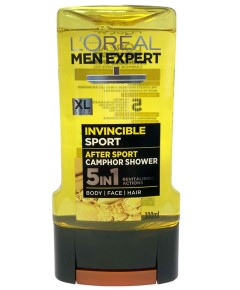 Men Expert Invincible Sport After Sport Camphor Shower 5In1