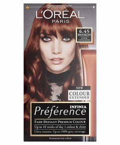 Preference Infinia Permanent Colour 6.45 Brooklyn Intense Copper Auburn