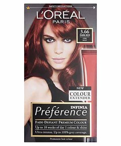 Preference Infinia Permanent Colour 3.66 Dark Red