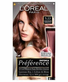 Preference Infinia Permanent Color 5.23 Chocolate Rose Gold