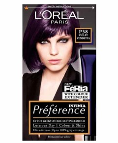 Preference Infinia Permanent Colour P38 Violet Vendetta