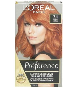 Preference Infinia Permanent Colour 74 Mango Intense Copper