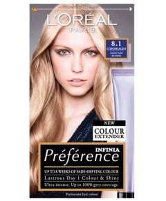 Preference Infinia Permanent Color 8.1 Copenhagen