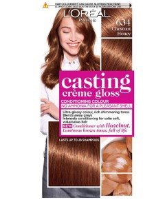 Casting Creme Gloss Conditioning Colour 634 Chestnut Honey