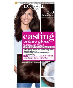 Casting Creme Gloss Conditioning Colour 300 Darkest Brown