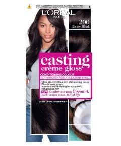 Casting Creme Gloss Conditioning Colour 200 Ebony Black