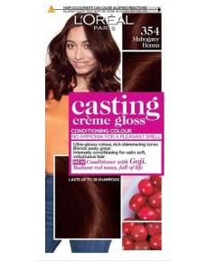 Casting Creme Gloss Conditioning Colour 354 Mahogany Heena
